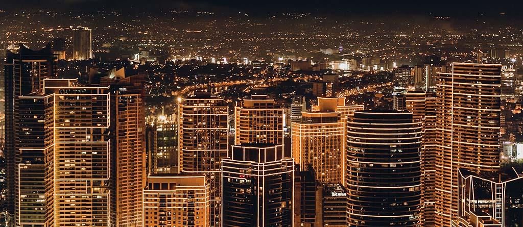 Energía, luces, ciudad