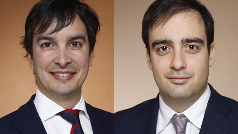 Pablo Peciña e Gonzalo García Pérez Lombard