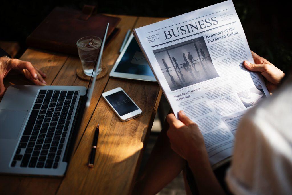 negócio, tecnologia, dinheiro