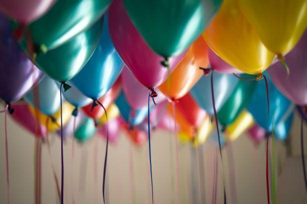 baloes, festa, celebração, cor