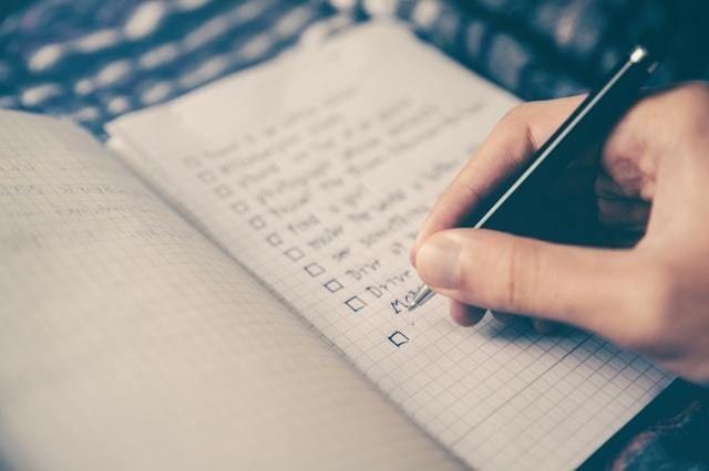 lista checklist requisitos estrelas morningstar