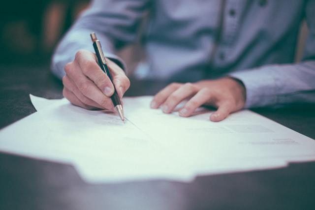 legal escrever contrato empresa business negócio
