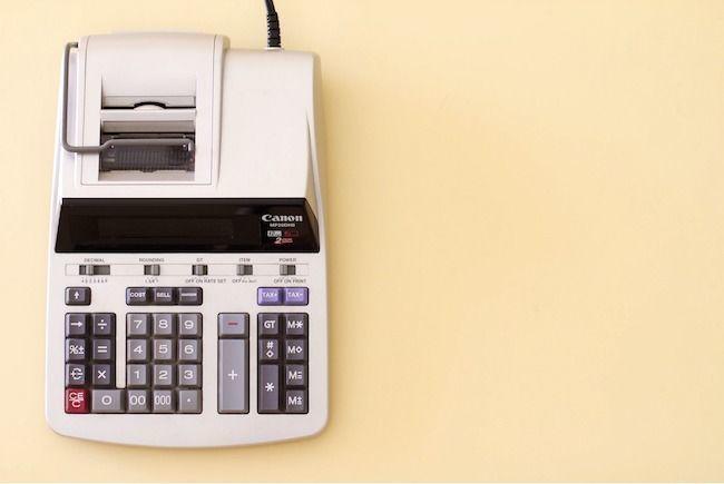 Contas contabilidade book dívida