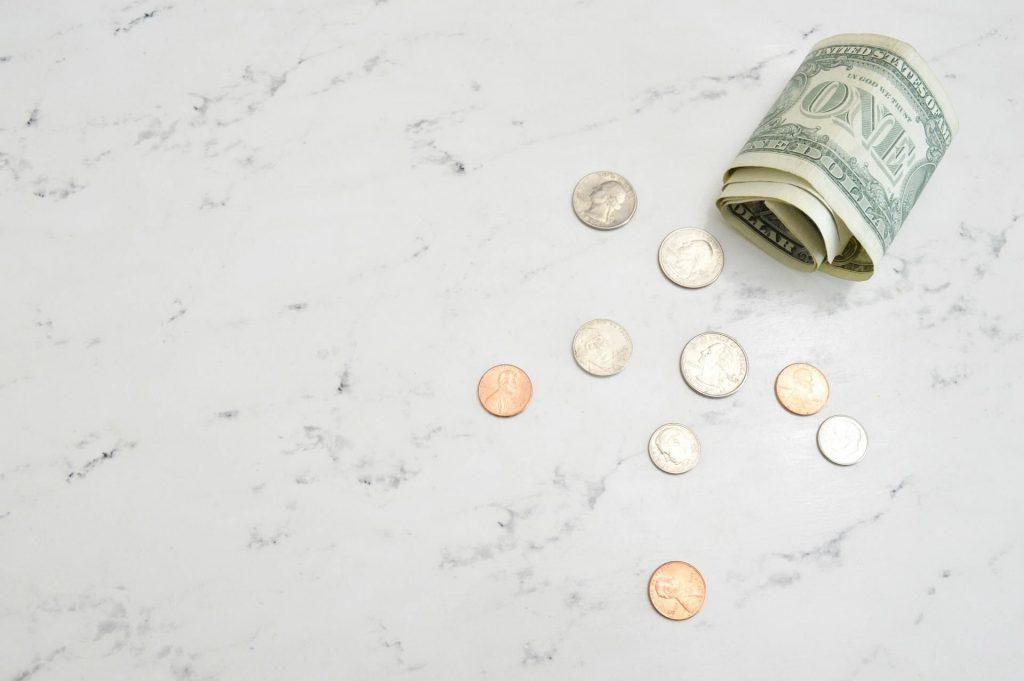 dinheiro nota moedas multiativos ativo
