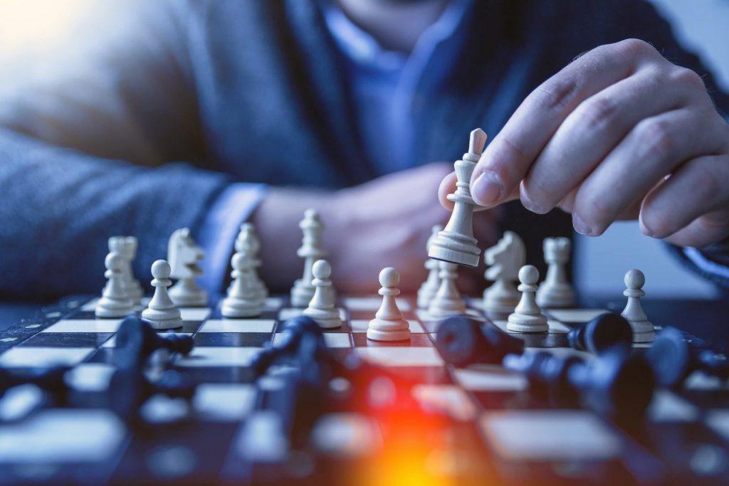 lider vencedor xadrez jogo global