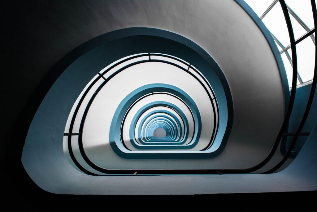 escadas fundo