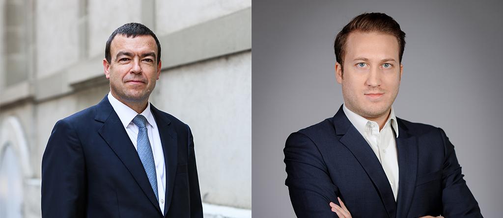 Stéphane Mayor e Romain Bordenave. Créditos: Cedida.