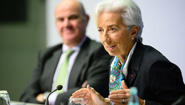 Christine Lagarde, BCE