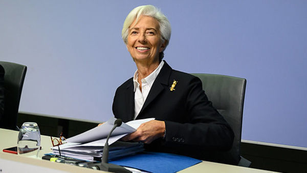 Christine Lagarde, Presidente, BCE