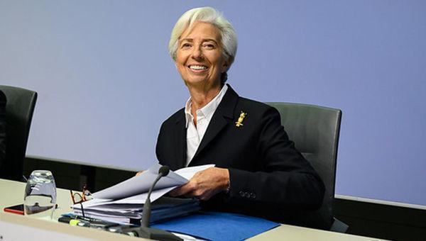 Christine Lagarde, Presidente, BCE