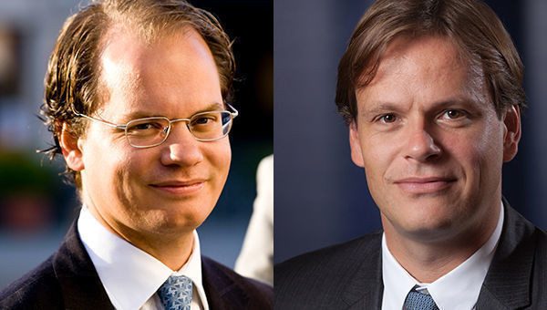 Jacob Grapengiesser e Tim Umberger, fund manager, East Capital