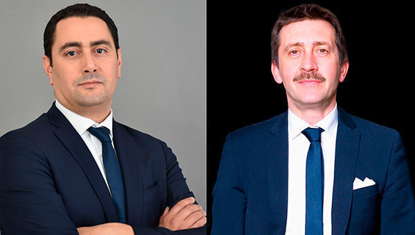 Akram Gharbi, gestore e Luigi Brunetti, country head per l'Italia d iLa Française