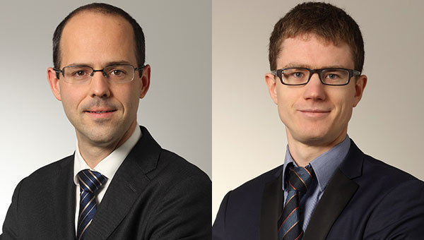 Antoine Hamoir, senior fund manager, e Servaas Michielssens, co-fund manager, Candriam